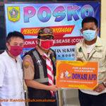 Kwarran Pramuka Sukamakmur dan PGRI Sukamakmur Peduli Covid19