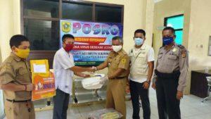 Kwarran Pramuka Sukamakmur dan PGRI Sukamakmur Peduli Covid19 6