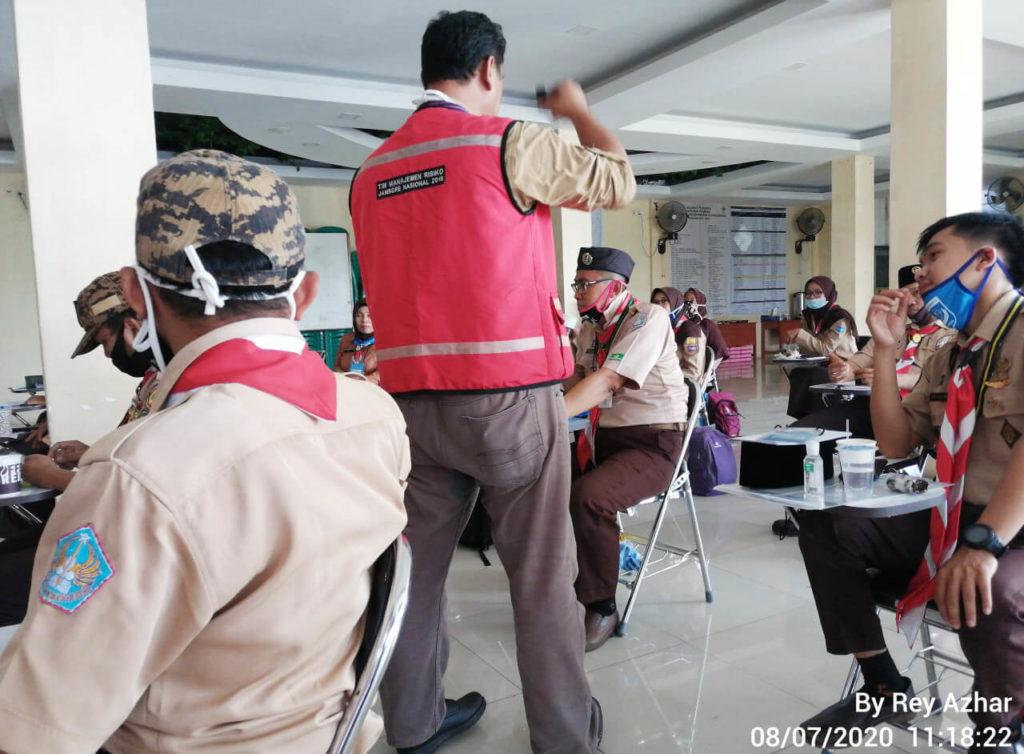 Diklat Manajemen Risiko Kwarran Sukamakmur Bogor 2