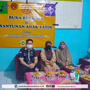 Sekran Sukamakmur, ketua kwarran Sukamakmur dan kepala sekolah SMP PGRI Sukamakmur